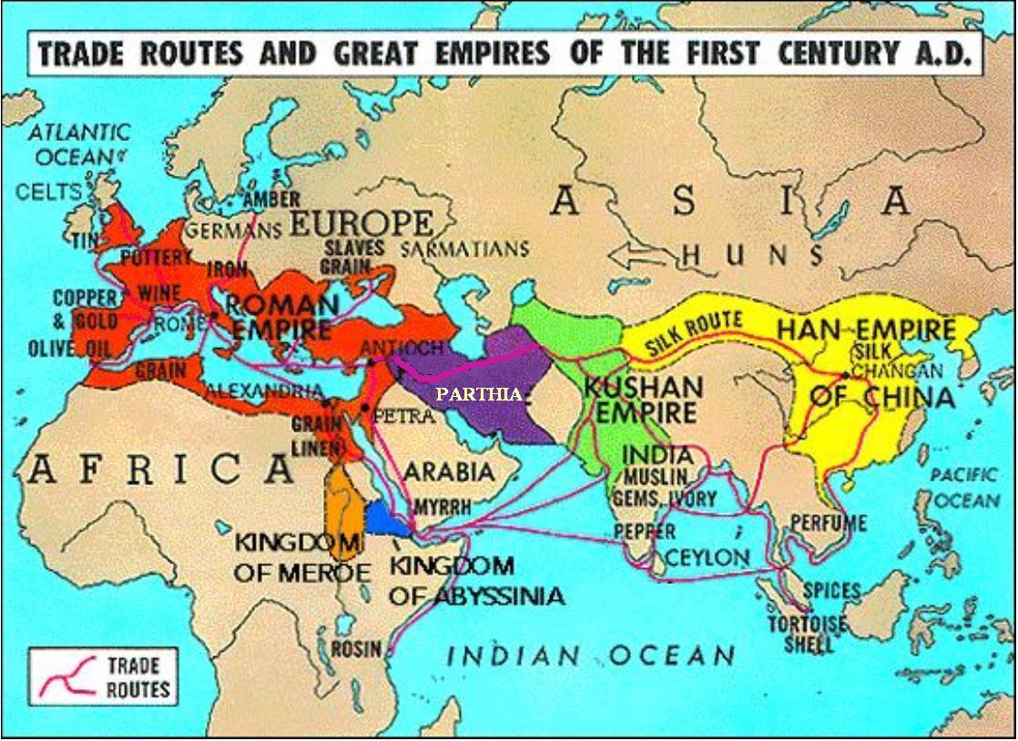 Торговые связи Византии с государствами Азии в раннем средневековье