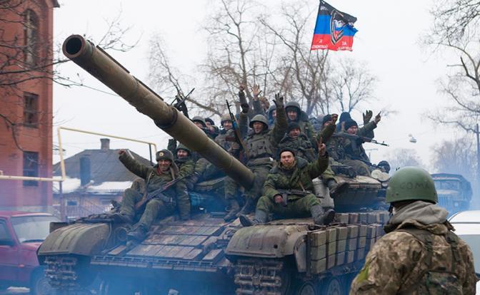 Гаага разглядела в Донбассе бурятских танкистов