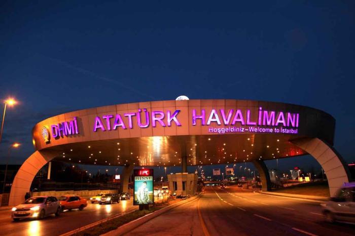 Ataturk Airport Стамбул, Турция