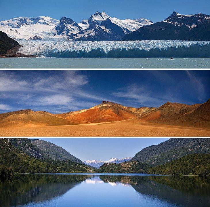 Прекрасные панорамы Южной Америки