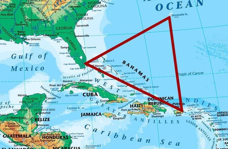 Истории кораблей, пострадавших от Бермудского треугольника