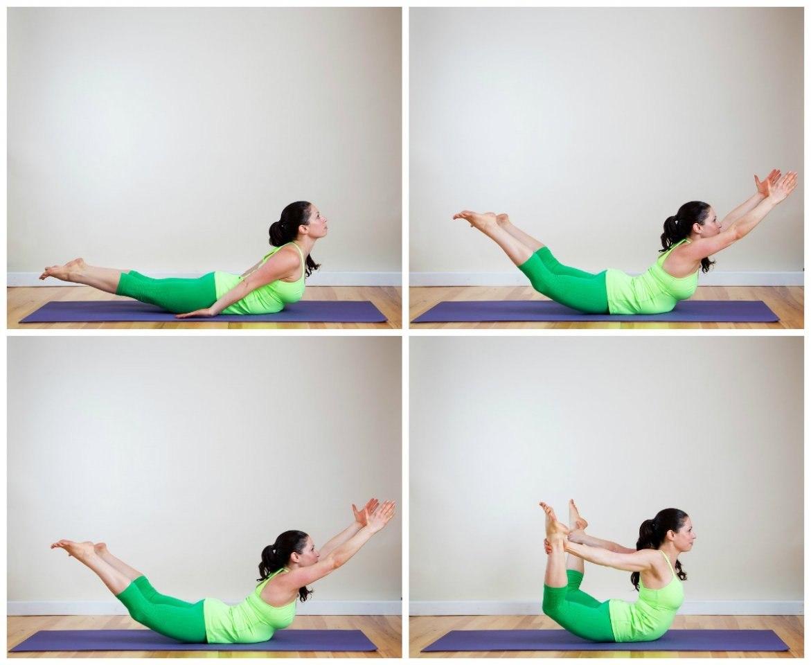 Избавляемся от живота с помощью йоги