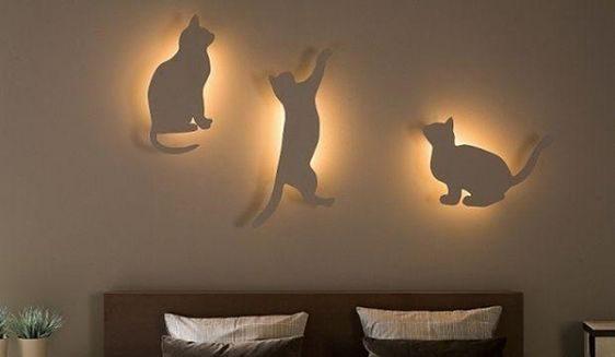 Светильник на стену сделать своими руками