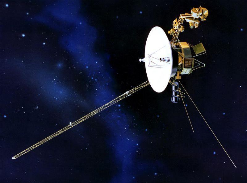 «Вояжер-2» внезапно начал посылать на Землю сигналы на неизвестном языке