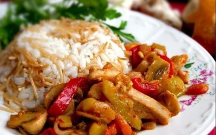 Турецкая кухня: Соте с курицей и грибами…Любой мужчина будет покорен!