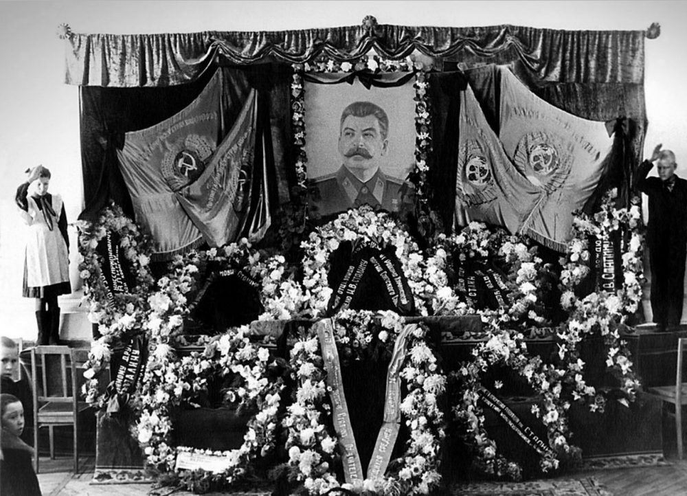 План психологического использования смерти Сталина. Часть №1