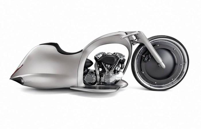 Лунный мотоцикл, который нужно видеть, а еще лучше - слышать