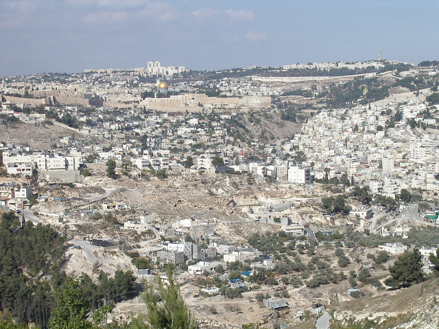 Иерусалим - вид на Старый Город