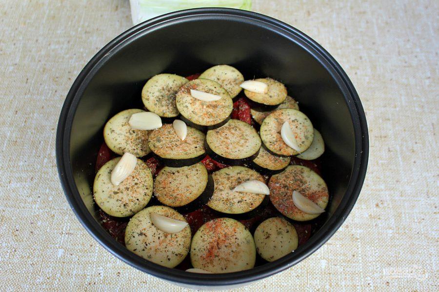 Приготовление мяса с овощами в мультиварке
