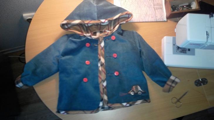Куртка для мальчика своими руками