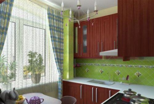 Ремонт маленькой кухни в хрущевке фото