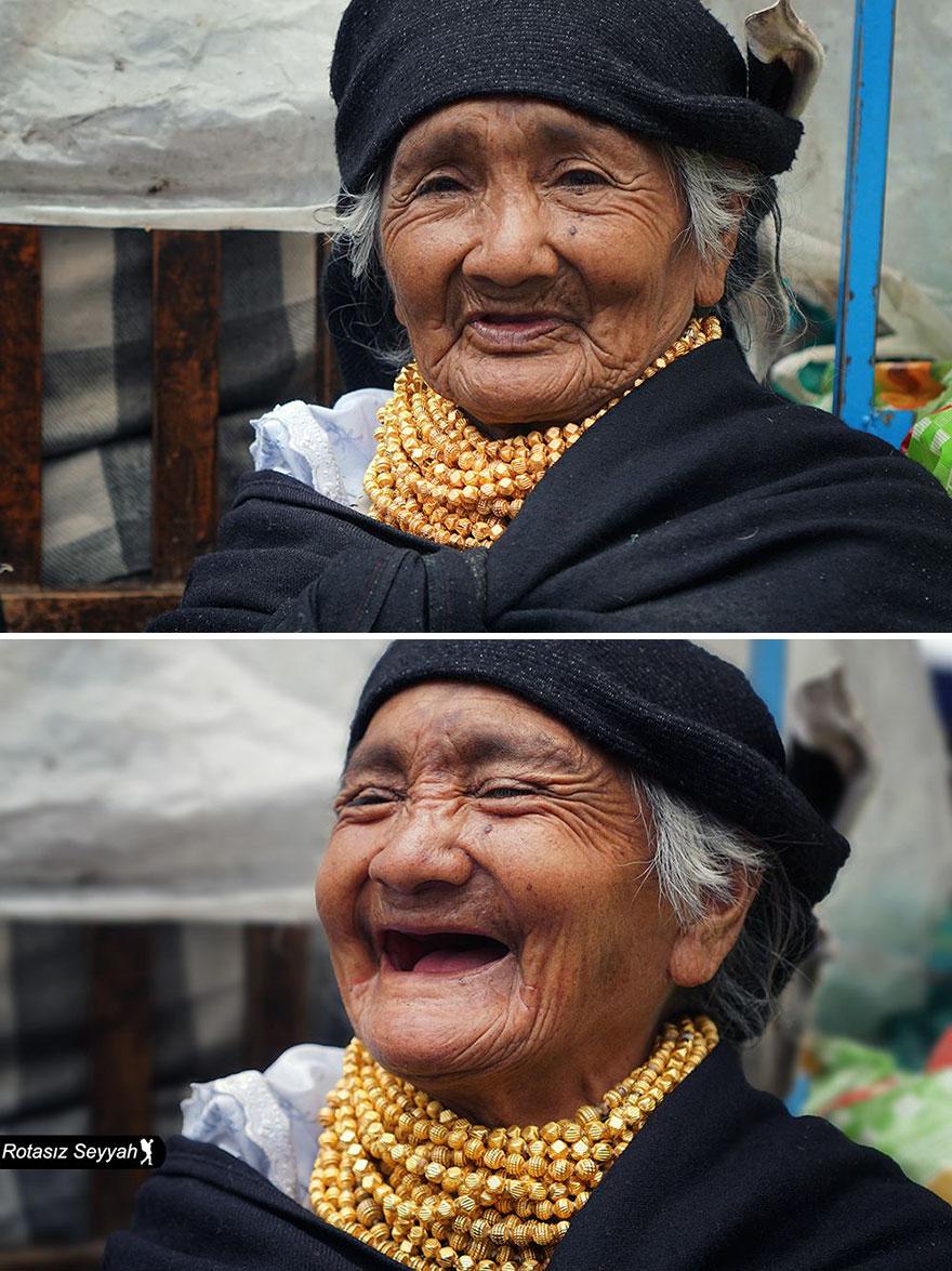 До и после: как меняются лица людей, которым сделали комплимент