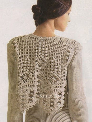Receitas de Crochet: Colete super fácil: