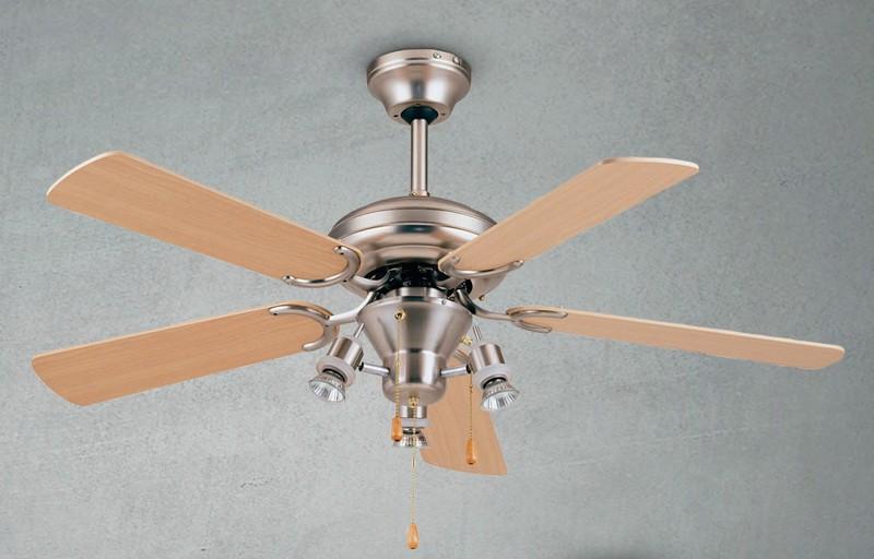 как установить потолочный вентилятор фото