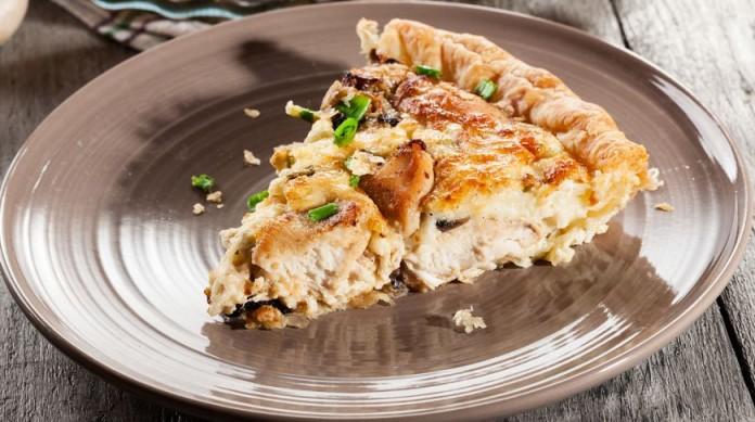 Пирог с курицей простой рецепт