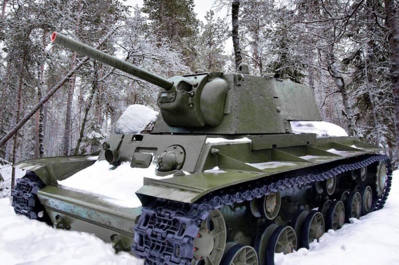 Как два КВ-1 остановили наступление финнов в 1941 году