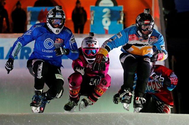 В Марселе состоялся Чемпионат мира по конькобежному даунхиллу по версии Red Bull