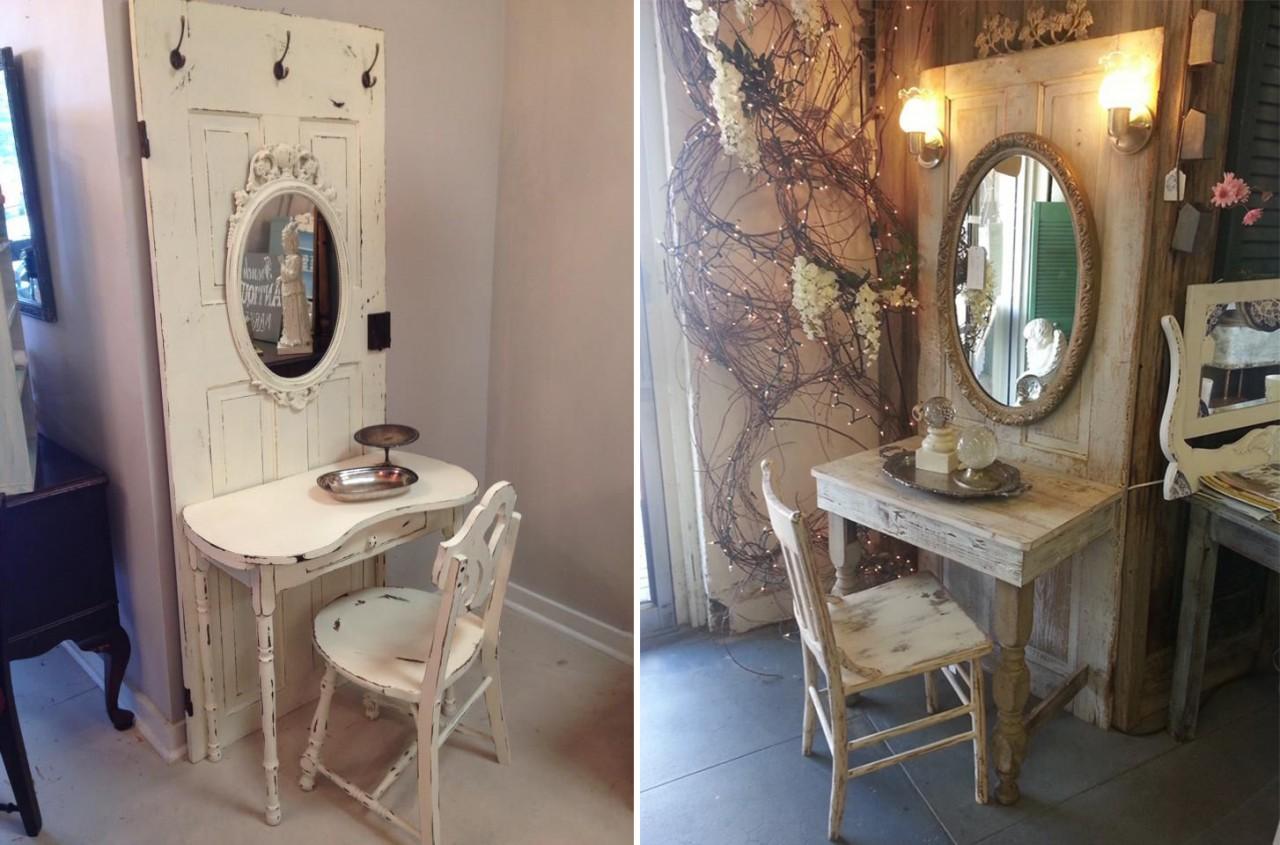 Реставрация трюмо с зеркалом своими руками