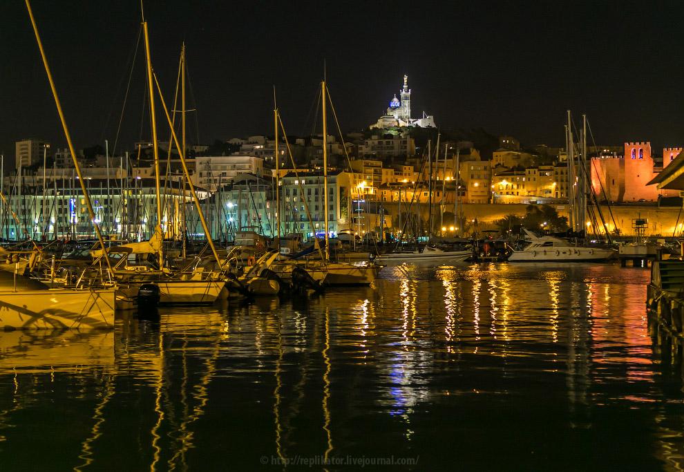Прогулка по вечернему Марселю