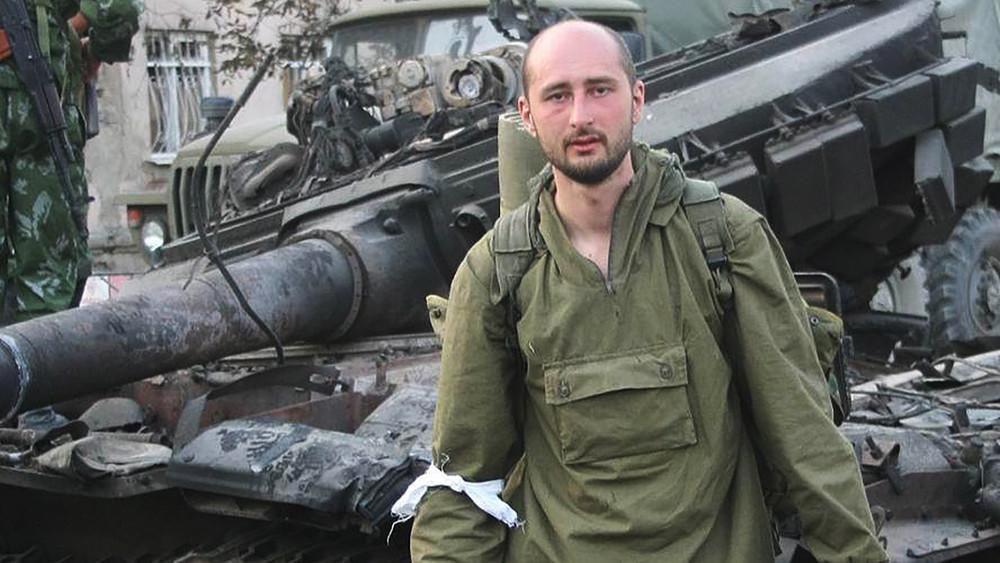 Российский антипутинский журналист-эмигрант пообещал вернуться в Москву на танке НАТО