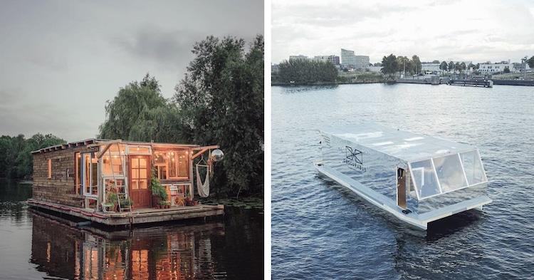 Два художника отправились в необычное путешествия на плавучих фотостудиях