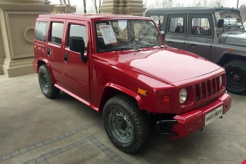 Бэйби-Hummer или китайский внедорожник BAIC 008