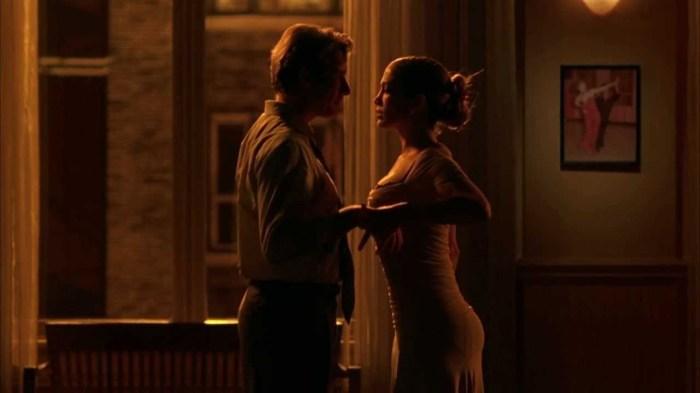Танго из фильма «Давайте потанцуем».  Дженнифер Лопес и Ричард Гир
