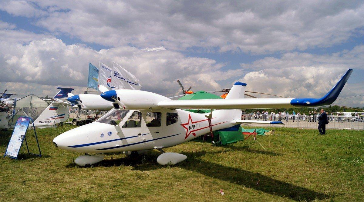 Серийный выпуск новейшего российского самолета МАИ-411 поможет малой авиации