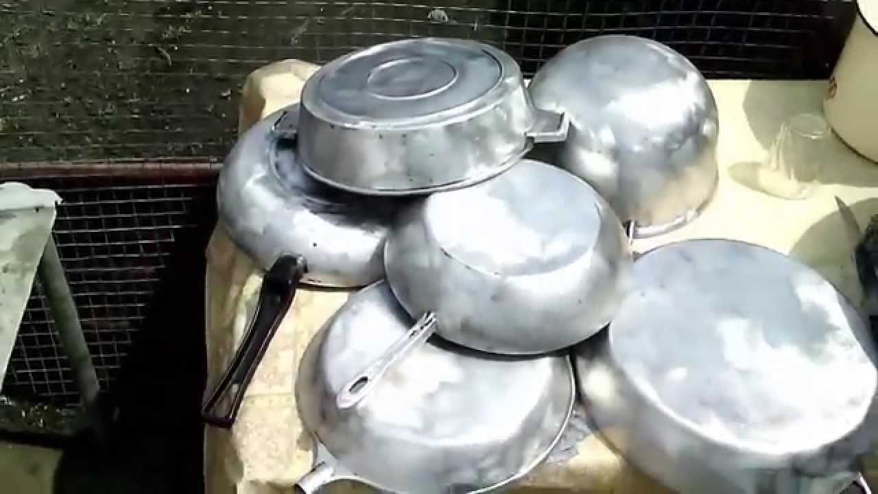 Чугунная сковородка без нагара! На выбор  8 способов решения проблемы