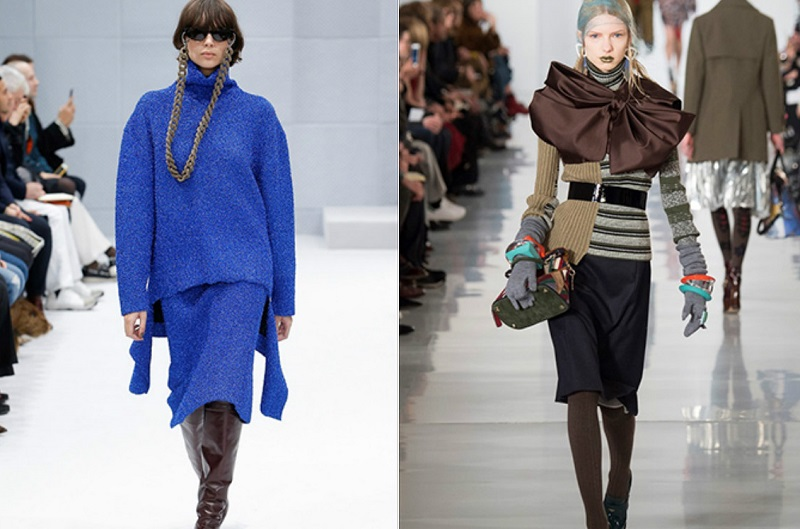 Утепляемся Модные женские свитеры, свитшоты и водолазки сезона осень-зима — 2019 новые фото