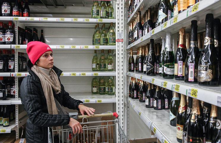 Россияне стали употреблять меньше алкоголя