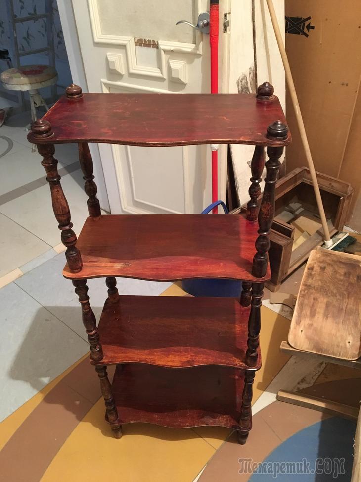 Реставрация старинной мебели своими руками