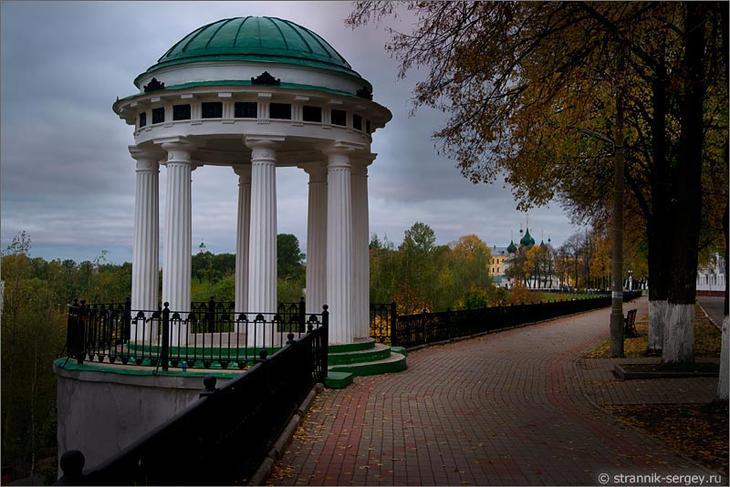 Ярославль прогулка Волга набережная Рубленый город