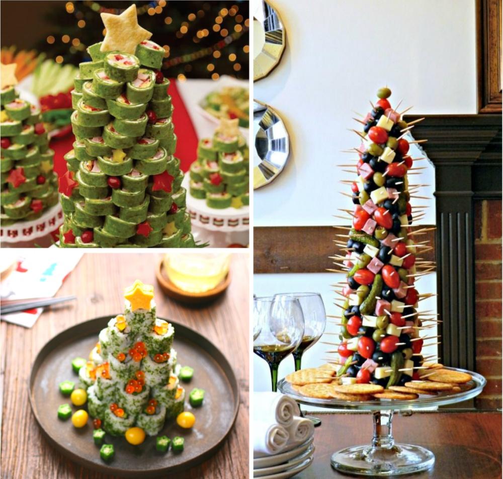 Оригинально и легко — 7 способов украсить блюда к новогоднему столу
