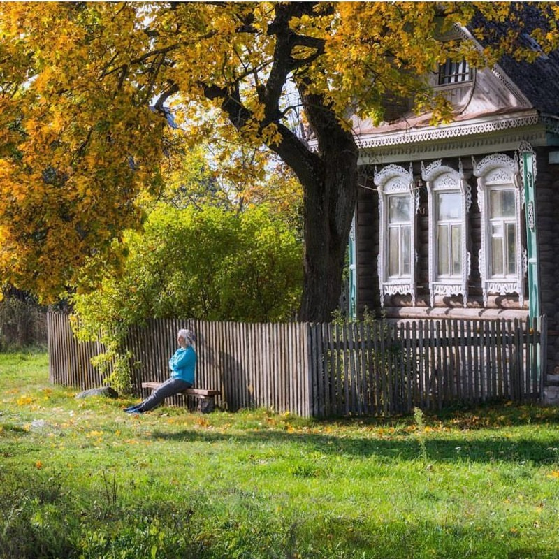 Село Лучкино, Ивановская область глубинка, деревня, красиво, лес, россия, село, фото
