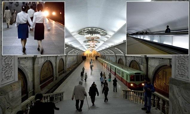 К ядерной атаке - готовы: метро Пхеньяна имеет функцию надежного бомбоубежища