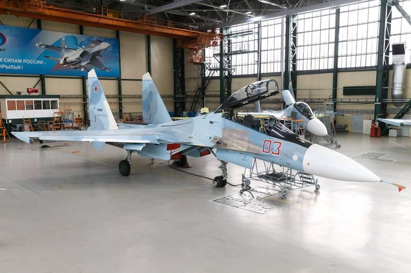 Российский истребитель Су-30СМ унифицируют с истребителем Су-35