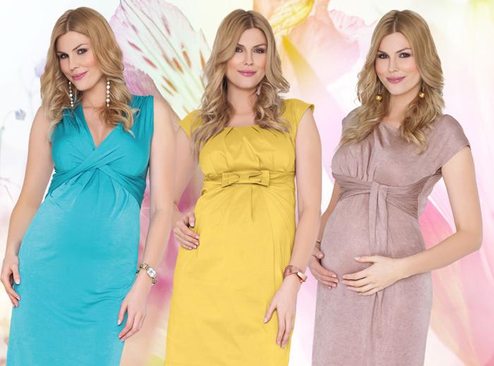 Как сшить платье для беременных самостоятельно-2