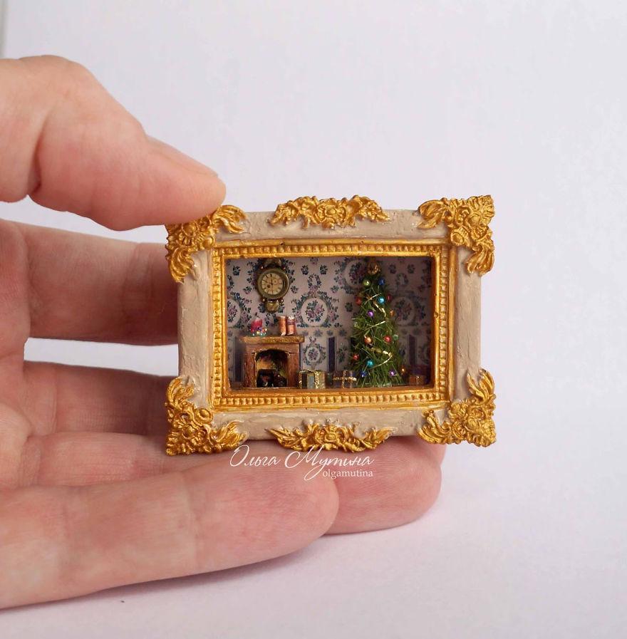 Русская художница создает удивительные крошечные домики, в которых спрятаны миниатюрные миры