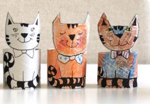Игрушки из рулонов от туалетной бумаги (18)