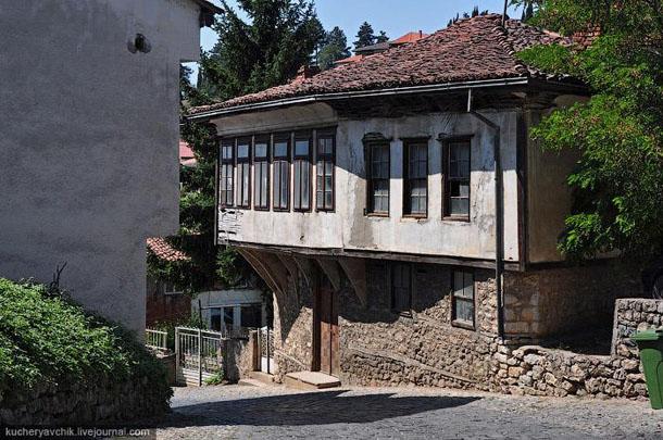 Город Охрид - улочки