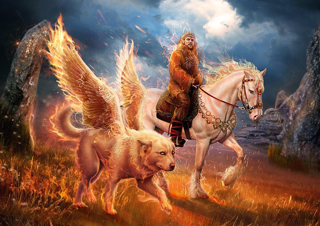 Бог Огня у славян: когда чествуем Семаргла?