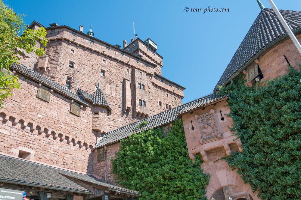 Эльзас. Замок О-Кёнигсбург (Haut-Kœnigsbourg)
