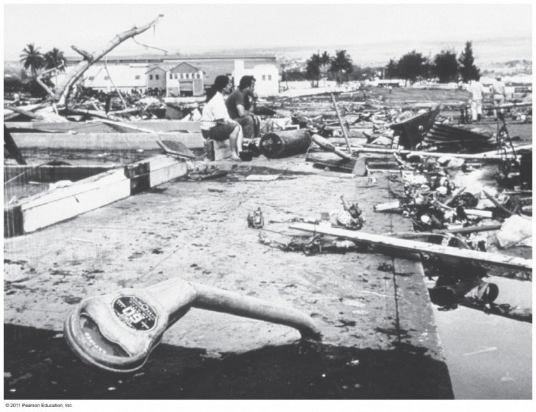 1998, землетрясение Папуа-Новой Гвинеи и цунами вода, интересное, познавательное