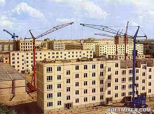 """Как строили """"хрущевки"""" в 1963 году"""