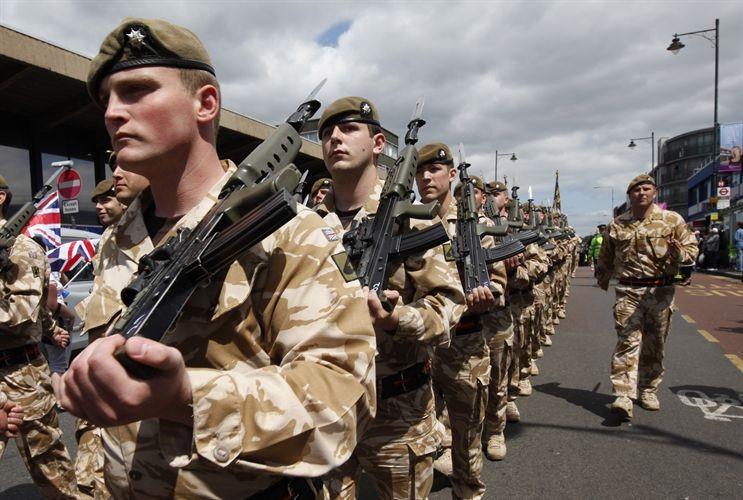 нашему мнению, все о армии в великобритании любимыми