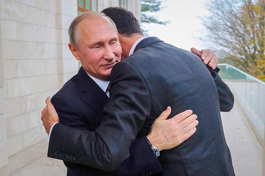 США не понравились объятия Путина и Асада: Заявление Госдепа