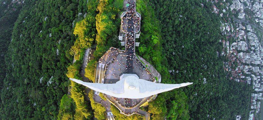 Лучшие снимки из сети Dronestagram, объединяющей любителей дрон-фотографии