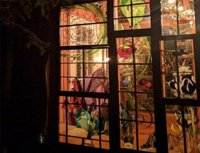 Удивительная красота дома Нейли Купер в ночное время. ¦ Фото: http://designyoutrust.com