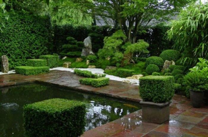 17 садовых участков в стиле Дзен для можно достичь полного релакса и умиротворения